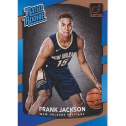FRANK JACKSON 2017-18 DONRUSS RATED ROOKIE