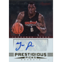TERRENCE JONES 2012-13 PRESTIGIOUS PICKS AUTO
