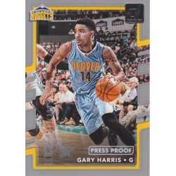 GARY HARRIS 2017-18 DONRUSS PRESS PROOF FOIL /299