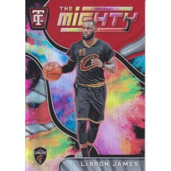 LEBRON JAMES 2017-18 CERTIFIED THE MIGHTY