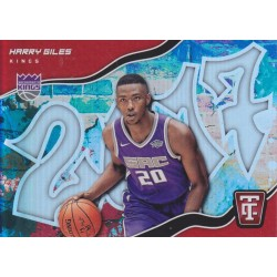 HARRY GILES 2017-18 CERTIFIED GRAFFITI ROOKIE