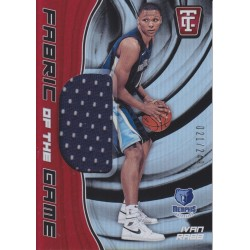 IVAN RABB 2017-18 CERTIFIED FABRIC OF THE GAME JERSEY /249