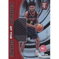TYLER DORSEY 2017-18 CERTIFIED FABRIC OF THE GAME JERSEY /249