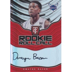 DWAYNE BACON 2017-18 CERTIFIED ROOKIE ROLL CALL AUTO