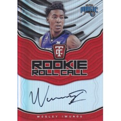 WESLEY IWUNDU 2017-18 CERTIFIED ROOKIE ROLL CALL AUTO