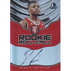 DENNIS SMITH JR 2017-18 CERTIFIED ROOKIE ROLL CALL AUTO