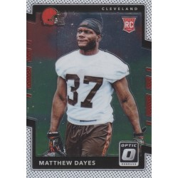 MATTHEW DAYES 2017 DONRUSS OPTIC ROOKIE