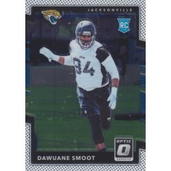 DAWUANE SMOOT 2017 DONRUSS OPTIC ROOKIE