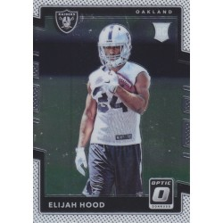 ELIJAH HOOD 2017 DONRUSS OPTIC ROOKIE