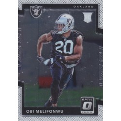 OBI MELIFONWU 2017 DONRUSS OPTIC ROOKIE