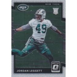 JORDAN LEGGETT 2017 DONRUSS OPTIC ROOKIE