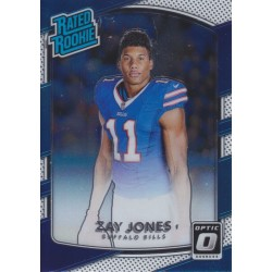ZAY JONES 2017 DONRUSS OPTIC RATED ROOKIE