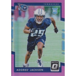 ADOREE JACKSON 2017 DONRUSS OPTIC PINK PRIZM ROOKIE