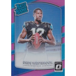 DEDE WESTBROOK 2017 DONRUSS OPTIC PINK PRIZM RATED ROOKIE