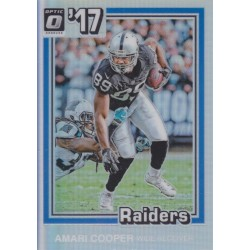 AMARI COOPER 2017 DONRUSS OPTIC 1981 TRIBUTE PRIZM