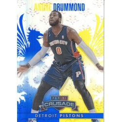 ANDRE DRUMMOND 2013-14 CRUSADE BLUE