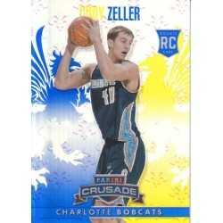 CODY ZELLER 2013-14 CRUSADE BLUE ROOKIE