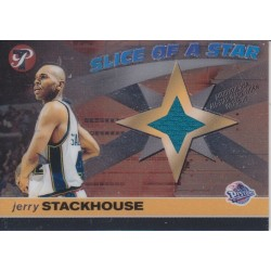 JERRY STACKHOUSE 2001 PRISTINE SLICE OF A STAR JERSEY