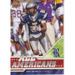 JARETT DILLARD 2009 DRAFT EDITION ALL AMERICANS /350