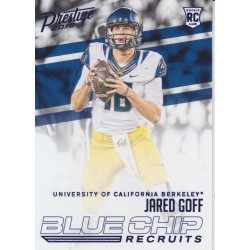 JARED GOFF 2016 PRESTIGE BLUE CHIP ROOKIE