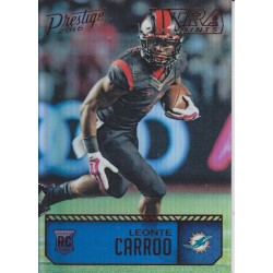 LEONTE CARROO 2016 PRESTIGE XTRA POINTS RED ROOKIE