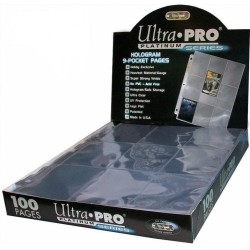 100 PAGES BOX ULTRA PRO PLATINUM