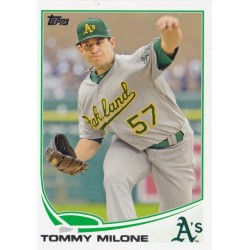 TOMMY MILONE 2013 TOPPS