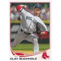 CLAY BUCHHOLZ 2013 TOPPS