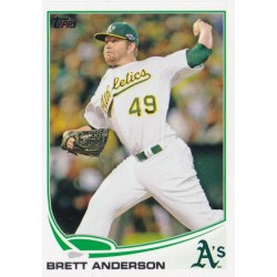 BRETT ANDERSON 2013 TOPPS