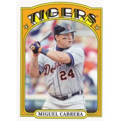 MIGUEL CABRERA 2013 TOPPS 1972 TOPPS MINIS