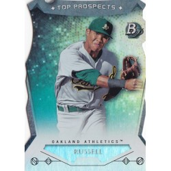 ADDISON RUSSELL 2014 BOWMAN PLATINUM TOP PROSPECTS DIE-CUT ROOKIE