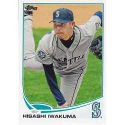HISASHI IWAKUMA 2013 TOPPS