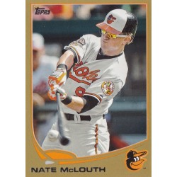 NAT MCLOUTH 2013 TOPPS GOLD /2013