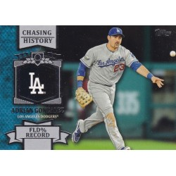 ADRIAN GONZALEZ 2013 TOPPS CHASING HISTORY