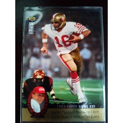 1995 Upper Deck Collector's Choice joe montana tilogy