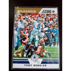 2012 Score - [Base] - Gold Zone tony romo