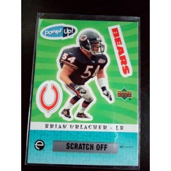 2004 Upper Deck Power Up! - Stickers brian urlacher