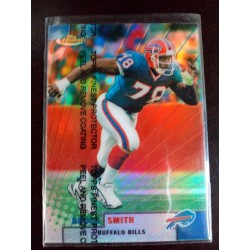 1999 Topps Finest - [Base] - Refractor bruce smith