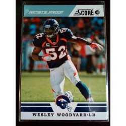 2012 score artist's proof wesley woodyard 19/32