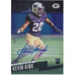 KEVIN KING 2017 PRESTIGE XTRA POINTS PURPLE ROOKIE AUTO /100