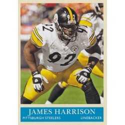 JAMES HARRISON 2009 UPPER DECK PHILADELPHIA