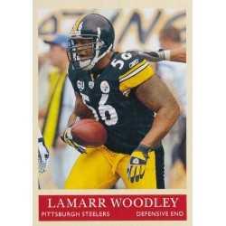 LAMARR WOODLEY 2009 UPPER DECK PHILADELPHIA