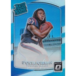 D'ONTA FOREMAN 2017 DONRUSS OPTIC RATED ROOKIE PRIZM