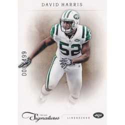 DAVID HARRIS 2011 PANINI PRIME SIGNATURES /499