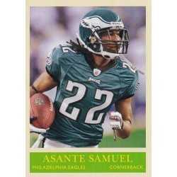 ASANTE SAMUEL 2009 UPPER DECK PHILADELPHIA