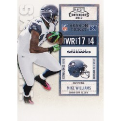 MIKE WILLIAMS 2010 PANINI PLAYOFF CONTENDERS