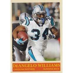 DeANGELO WILLIAMS 2009 UPPER DECK PHILADELPHIA