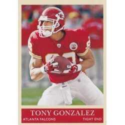 TONY GONZALEZ 2009 UPPER DECK PHILADEPLHIA
