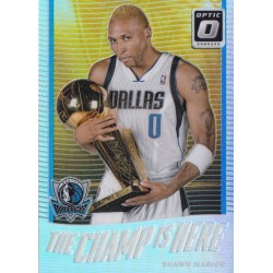 SHAWN MARION 2017-18 PANINI OPTIC THE CHAMP IS HERE HOLO