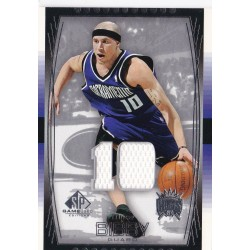 MIKE BIBBY 2004-05 UPPER DECK SP GAME USED JERSEY